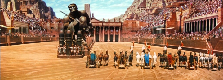 ben hur cinematography chariot