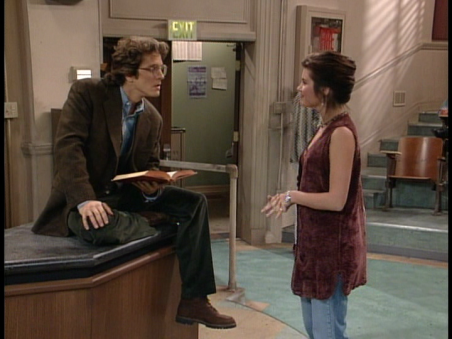 kelly and professor lasky saved by the bell