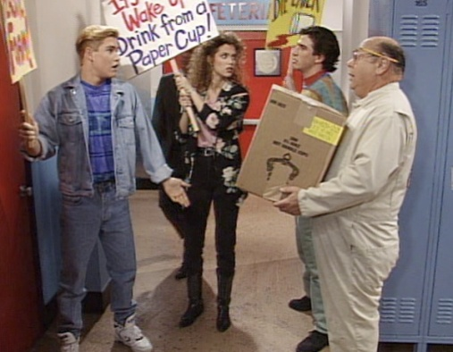 saved by the bell cup protest cut day image