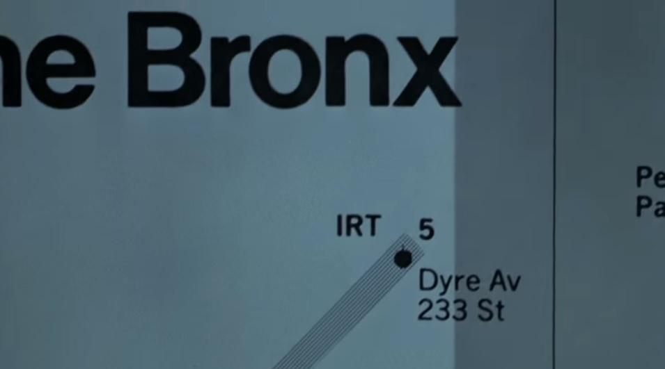 Warriors Subway Map.The Warriors The Bronx Subway Map Ghezalplusmovies