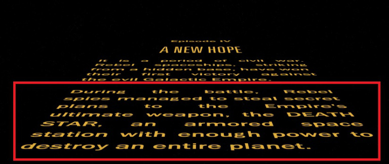 star wars opening crawl - photo #14
