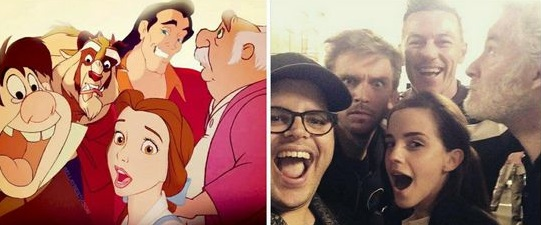 beauty and the beast 1991 and 2017.jpg