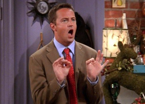 Matthew Perry Reveals The Rejected 'Friends' Storyline That Involves A Male Strip Club And TheirSandwiches